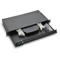 19″ cabinet optic fiber distribution box