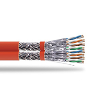 S/FTP Shielded CAT 7 Twisted Pair Installation Cable