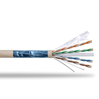 F/UTP Shielded CAT 6 Twisted Pair Installation Cable