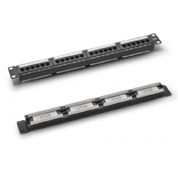 P197K CAT 5E patch panel