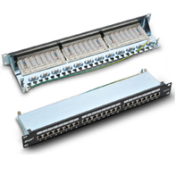 P199-24 CAT 6 shielded  patch panel